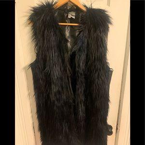 H & M Divided Fur Vest